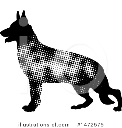 Dog Clipart #1472575 by Lal Perera
