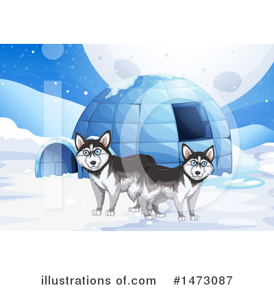 Igloo Clipart #1473087 by Graphics RF