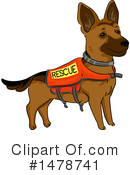 Dog Clipart #1478741 by BNP Design Studio