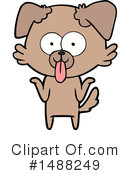 Dog Clipart #1488249 by lineartestpilot