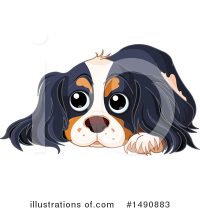 Spaniel Clipart #1490883 by Pushkin
