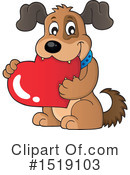 Dog Clipart #1519103 by visekart