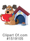 Dog Clipart #1519105 by visekart