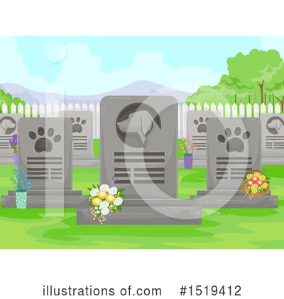 Funeral Clipart #1519412 by BNP Design Studio