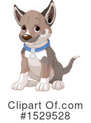 Dog Clipart #1529528 by Pushkin