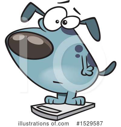 Dog Clipart #1529587 by toonaday