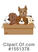 Dog Clipart #1551378 by BNP Design Studio