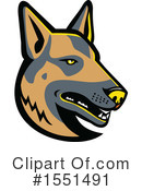 Dog Clipart #1551491 by patrimonio