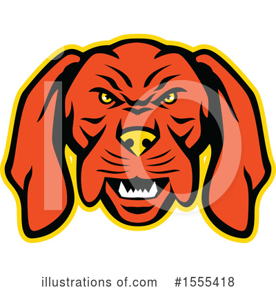 Royalty-Free (RF) Dog Clipart Illustration by patrimonio - Stock Sample #1555418