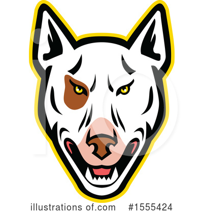 Royalty-Free (RF) Dog Clipart Illustration by patrimonio - Stock Sample #1555424