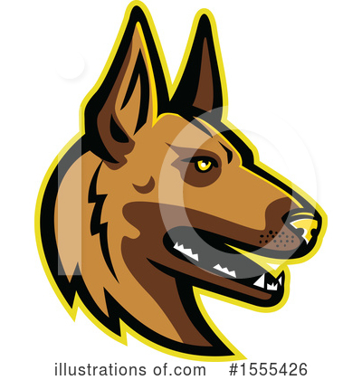 Dog Clipart #1555426 by patrimonio