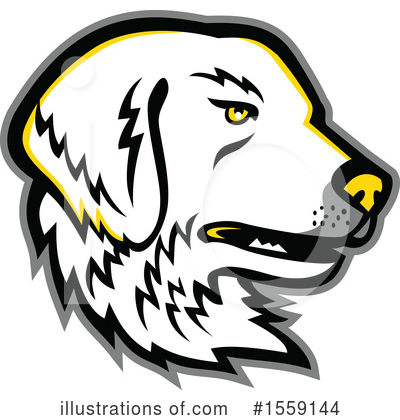 Royalty-Free (RF) Dog Clipart Illustration by patrimonio - Stock Sample #1559144