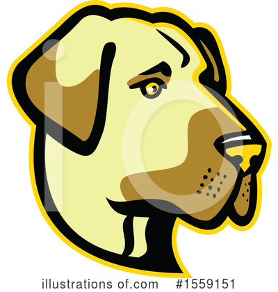 Royalty-Free (RF) Dog Clipart Illustration by patrimonio - Stock Sample #1559151