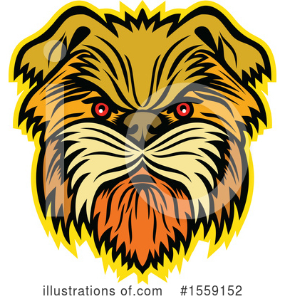 Royalty-Free (RF) Dog Clipart Illustration by patrimonio - Stock Sample #1559152