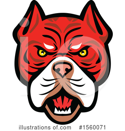 Royalty-Free (RF) Dog Clipart Illustration by patrimonio - Stock Sample #1560071