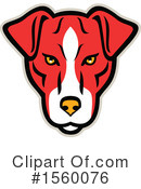 Dog Clipart #1560076 by patrimonio