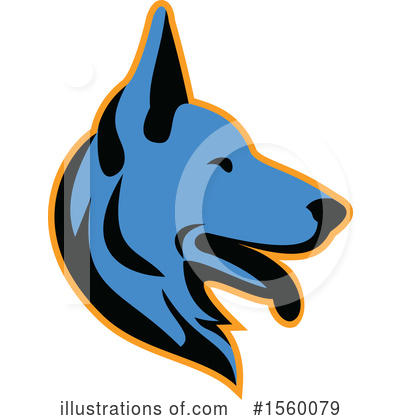 Dog Clipart #1560079 by patrimonio