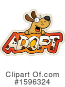Dog Clipart #1596324 by Cory Thoman