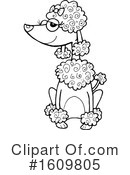 Dog Clipart #1609805 by Maria Bell