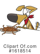 Dog Clipart #1618514 by toonaday