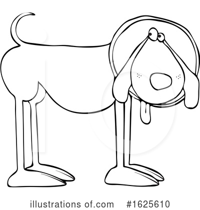 Royalty-Free (RF) Dog Clipart Illustration by djart - Stock Sample #1625610