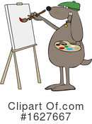 Dog Clipart #1627667 by djart