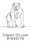 Dog Clipart #1633176 by patrimonio
