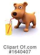 Dog Clipart #1640407 by Steve Young