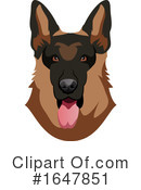 Dog Clipart #1647851 by Morphart Creations