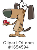 Dog Clipart #1654594 by toonaday