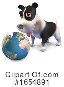 Dog Clipart #1654891 by Steve Young