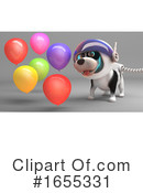 Dog Clipart #1655331 by Steve Young