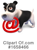 Dog Clipart #1658466 by Steve Young