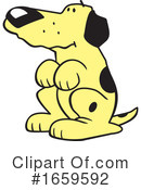 Dog Clipart #1659592 by Johnny Sajem