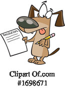 Dog Clipart #1698671 by toonaday