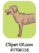 Dog Clipart #1704116 by BNP Design Studio