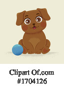 Dog Clipart #1704126 by BNP Design Studio