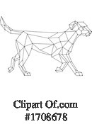 Dog Clipart #1708678 by patrimonio