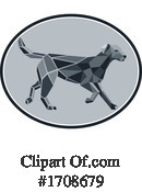 Dog Clipart #1708679 by patrimonio
