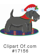 Royalty-Free (RF) Dog Clipart Illustration #17156