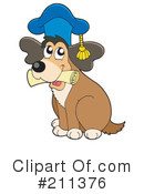 Royalty-Free (RF) Dog Clipart Illustration #211376