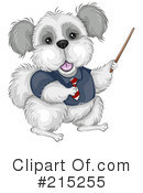Royalty-Free (RF) dog Clipart Illustration #215255