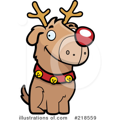 Rudolph Clipart #218559 by Cory Thoman