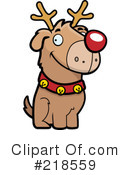 Royalty-Free (RF) Dog Clipart Illustration #218559