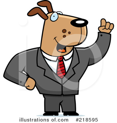 Businessman Clipart #218595 by Cory Thoman