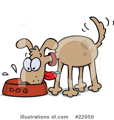 Royalty-Free (RF) Dog Clipart Illustration by gnurf - Stock Sample #22050