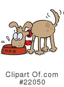 Royalty-Free (RF) Dog Clipart Illustration #22050