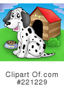 Dog Clipart #221229 by visekart