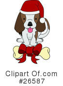 Royalty-Free (RF) Dog Clipart Illustration #26587