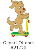 Royalty-Free (RF) Dog Clipart Illustration #31759